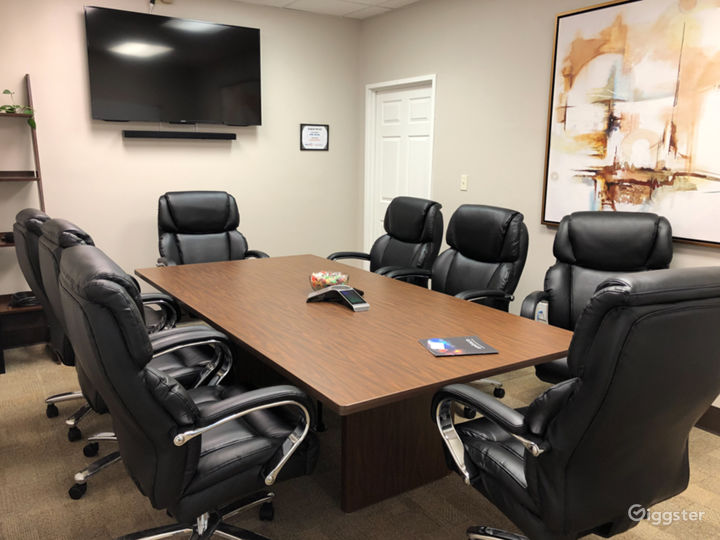 We also have conference room space as well.