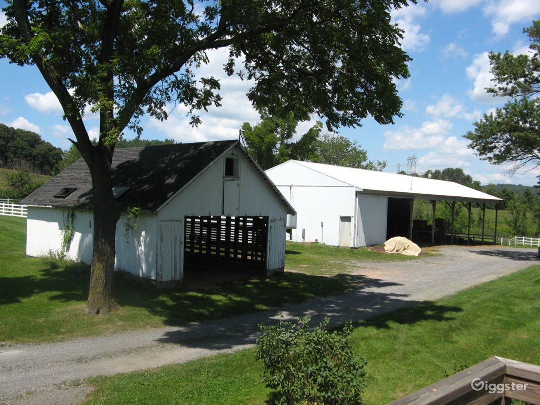 Corn Crib and Pole Barn