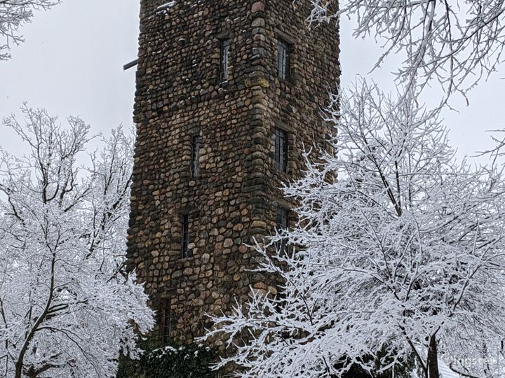 Winter View of the Tower