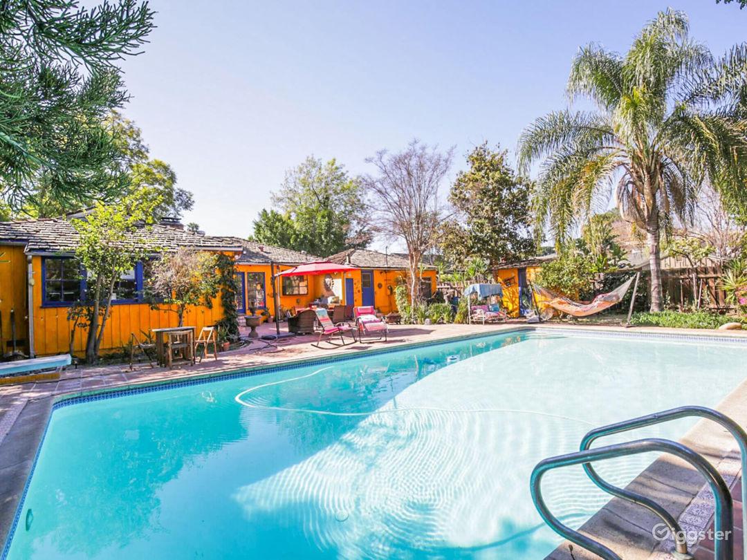 Colorful House, huge backyard & stunning Pool!  Photo 1