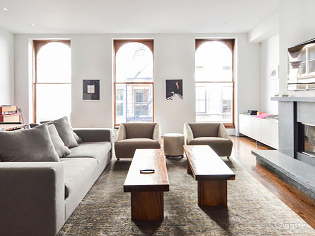 Contemporary NYC apartment: Location 5118 Photo 1