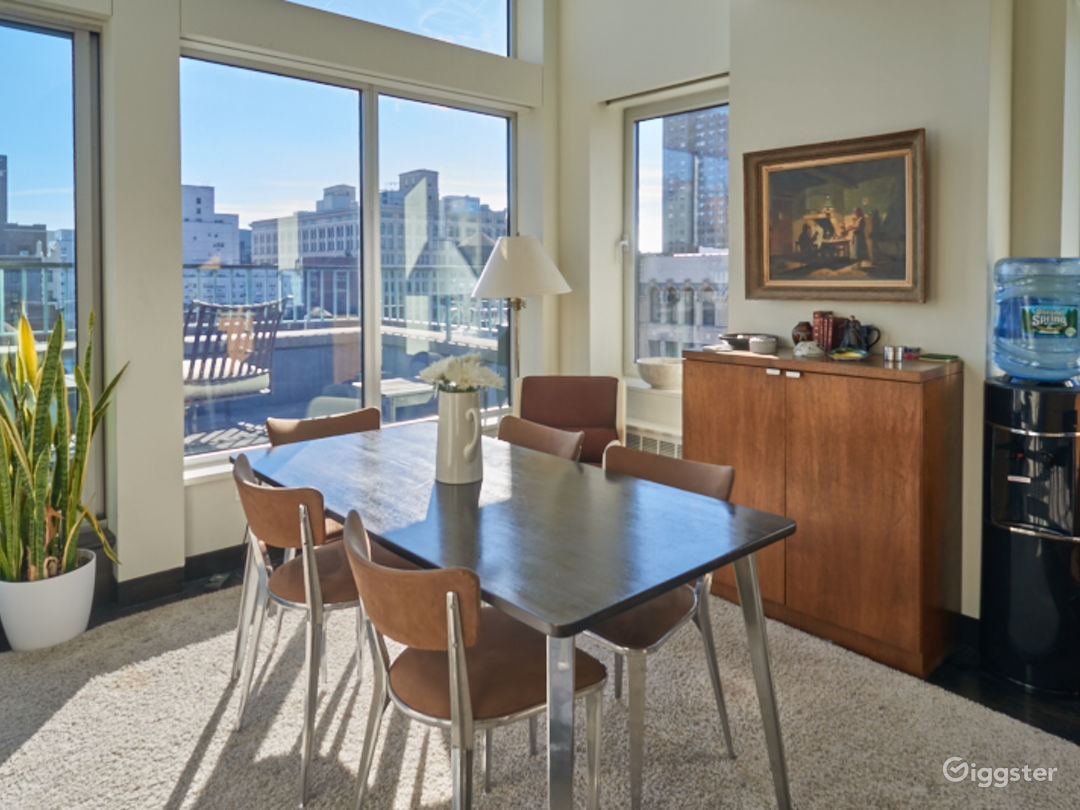 Contemporary NYC penthouse apartment:Location 5083 Photo 1