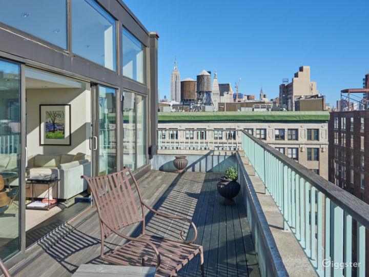 Contemporary NYC penthouse apartment:Location 5083 Photo 2
