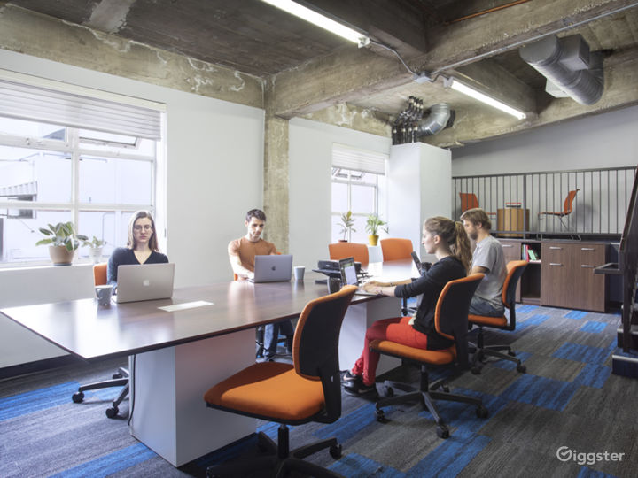 Roomy Conference Room