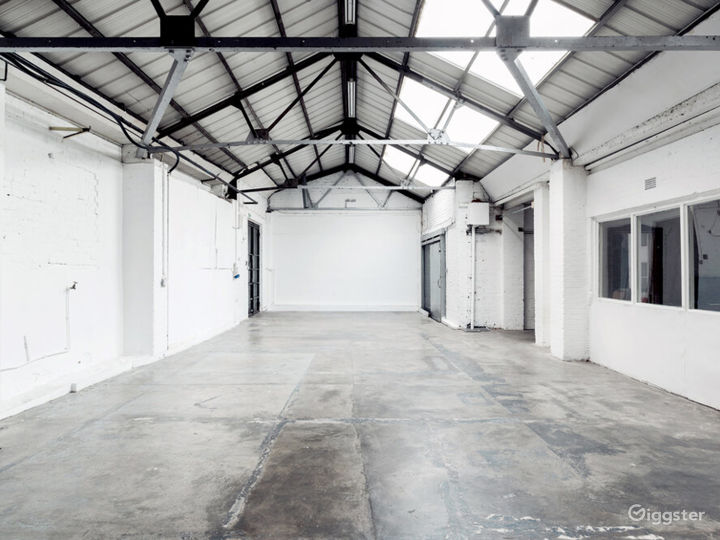 Large East London Warehouse Studio & Events Space Photo 2