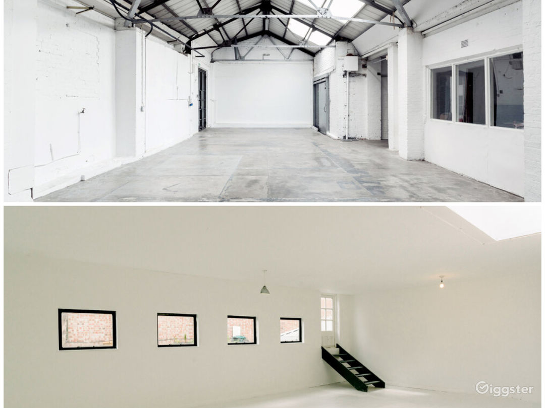 MKII - the 6000 square foot East London warehouse studio complex.