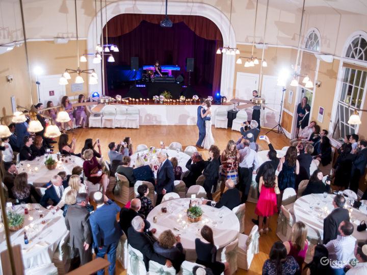 Stylish Wedding Reception At The Sanctuary Photo 5