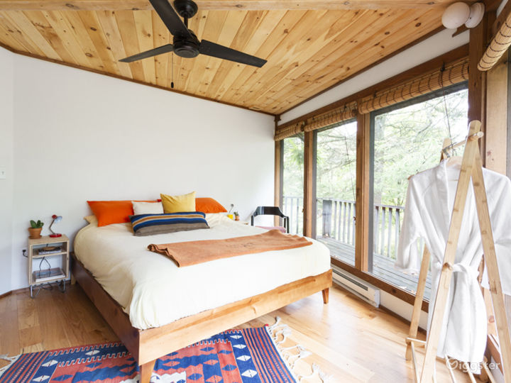 Cool cabin with retro interior: Location 5269 Photo 4