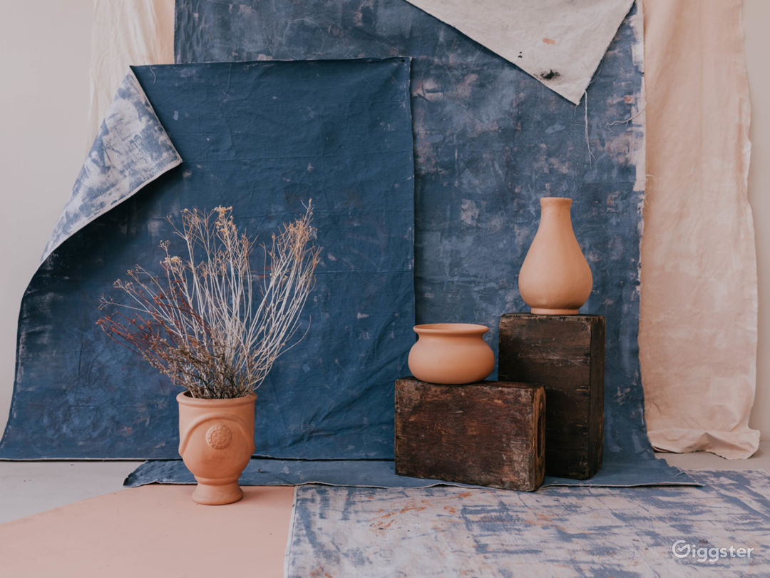 Curated Collection of Organic Textures, Hand-Painted Backdrops and Props available.