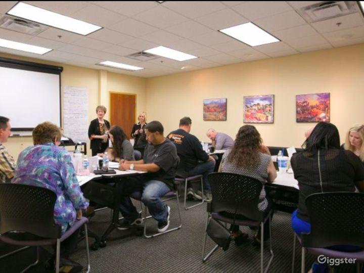 Neat Training Room in Albuquerque
