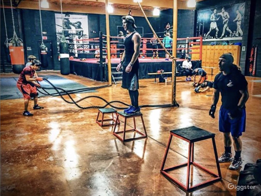 Boxing Gym / Modern Industrial Photo 5