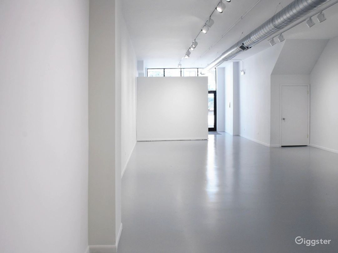 Affordable highceiling open space w/wall on wheels Photo 2