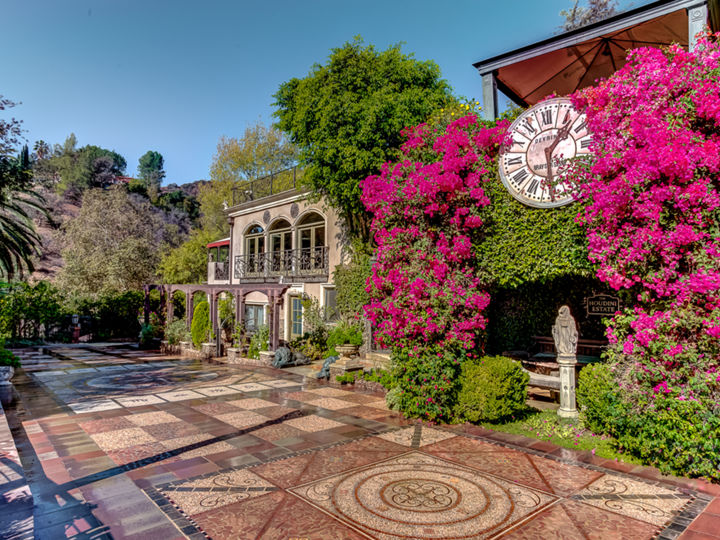 The Houdini Estate, A Hollywood Hills Mansion