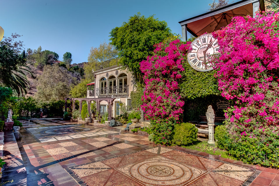 Iconic Houdini Mansion Estate in West Hollywood