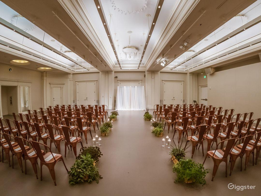 Museum's Elegant Ballroom in Cincinnati Photo 1