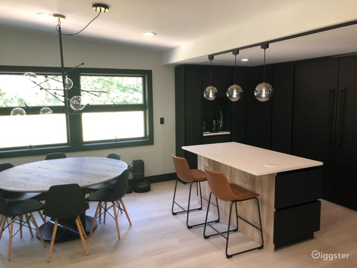 Dinning table and 2nd kitchen island