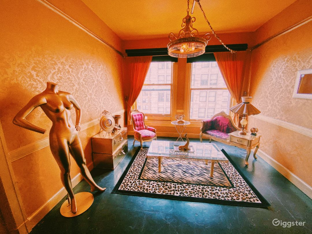 Beautiful Baroque Downtown Loft Photo 1