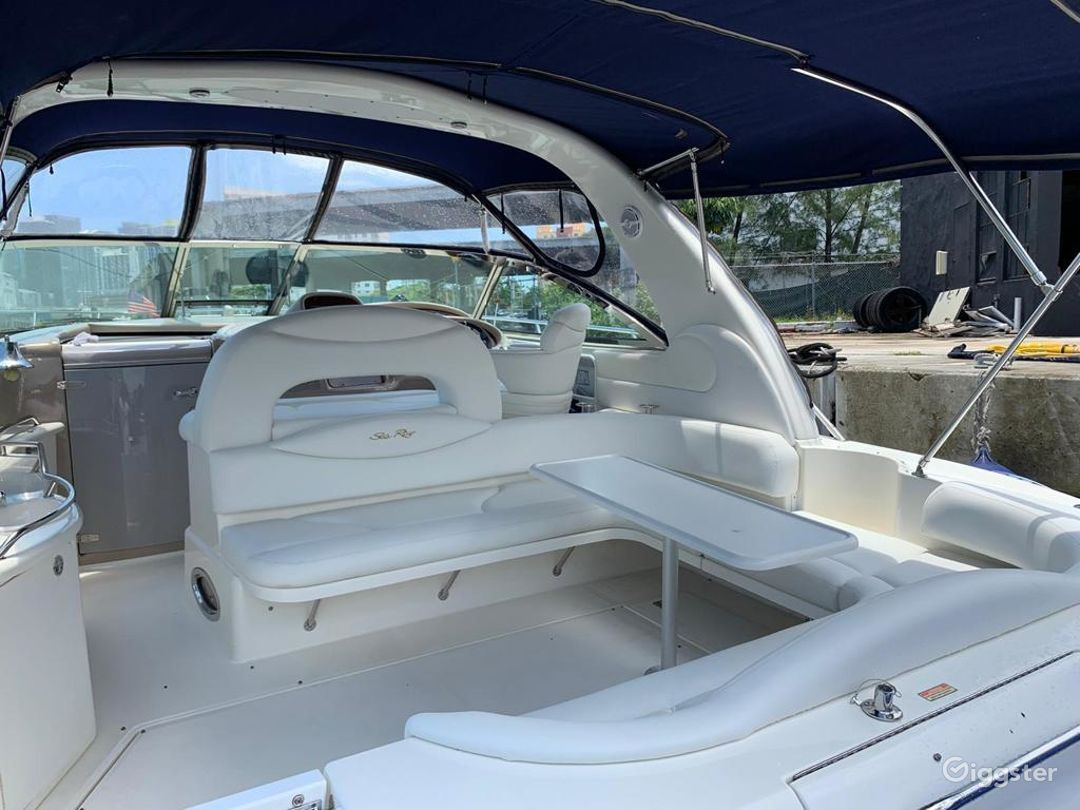 Luxurious 41FT SEA RAY Party Yacht Space Events Photo 1