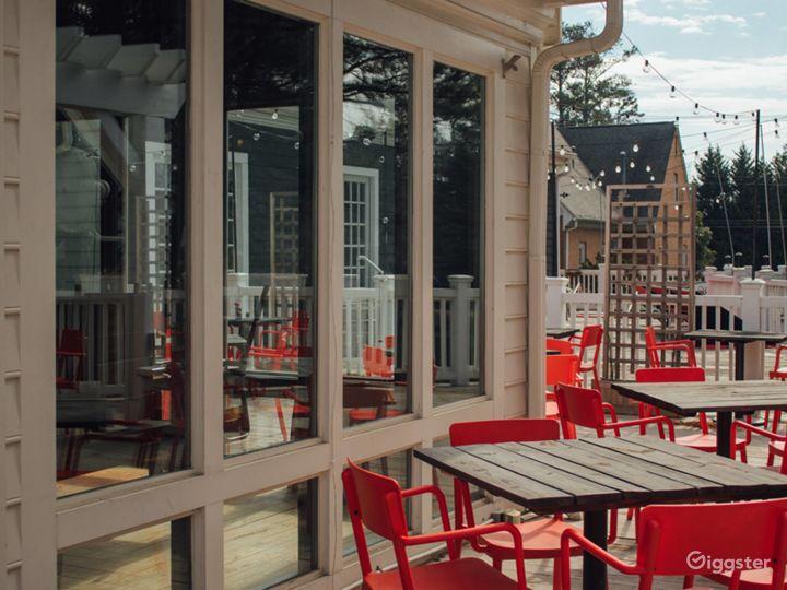 Bright Patio and Restaurant in Marietta