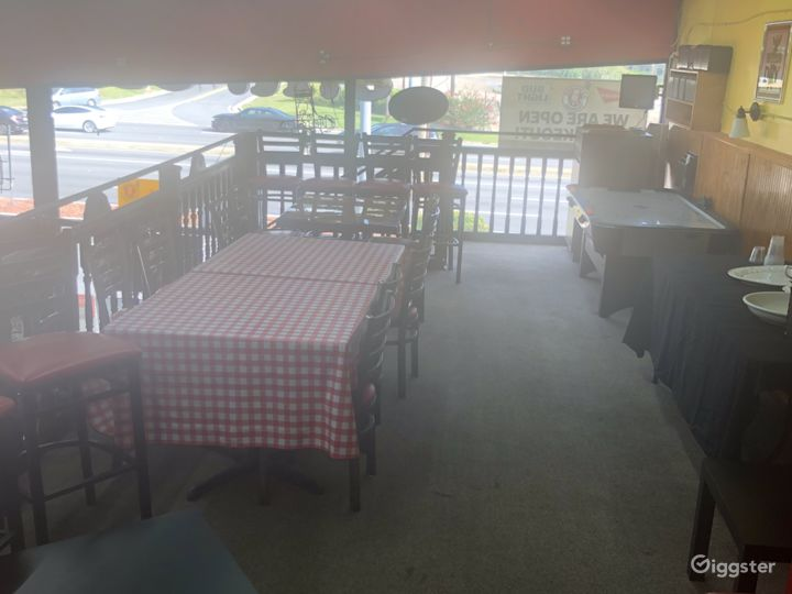 Fun and Spacious Upper Level Restaurant, Event Space in Decatur Photo 4