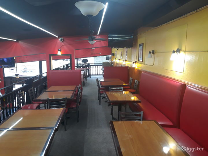Fun and Spacious Upper Level Restaurant, Event Space in Decatur Photo 2
