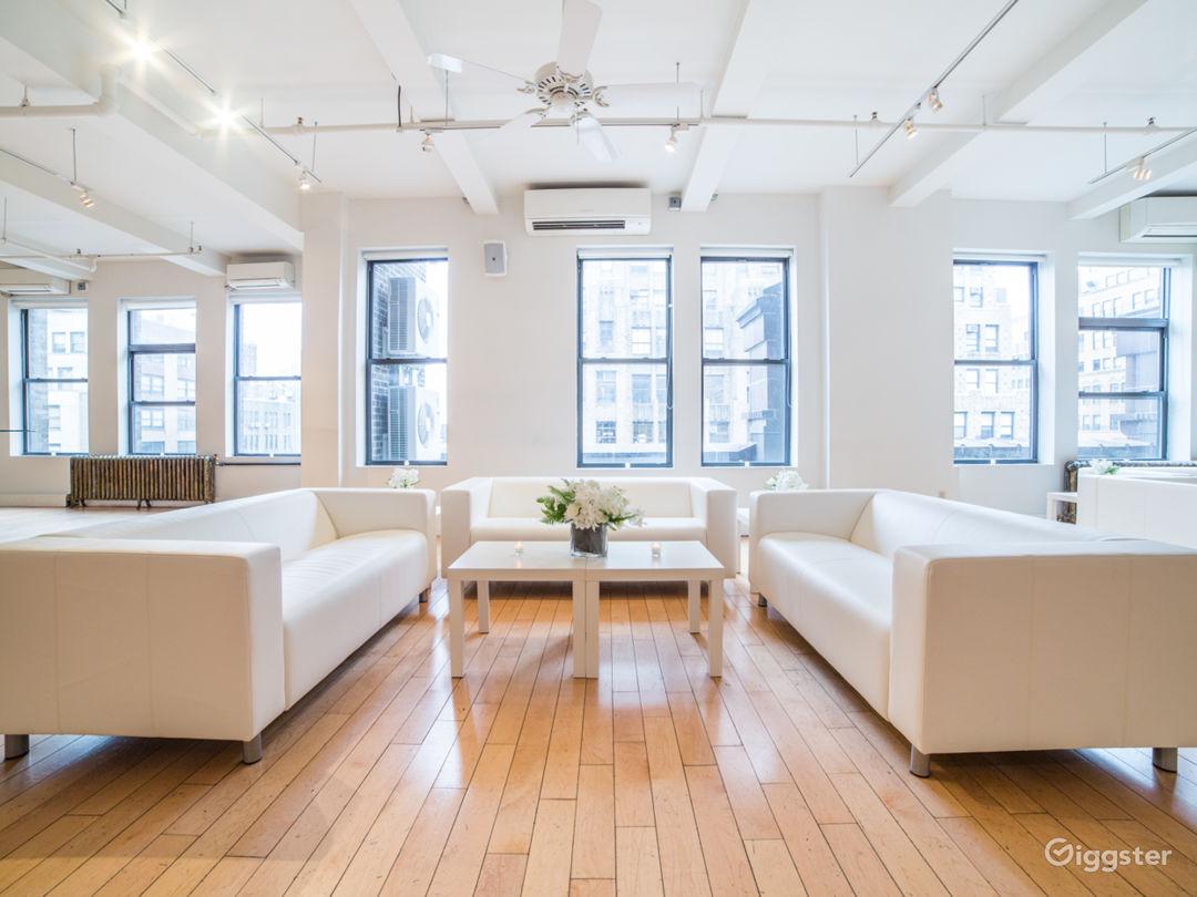 White on White Midtown Loft Photo 1