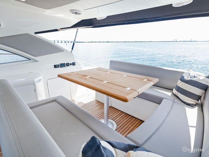 Astounding 44FT BENETEAU Party Yacht Space Events Photo 3