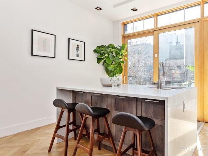 Mid Century Modern Brooklyn Brownstone Photo 5