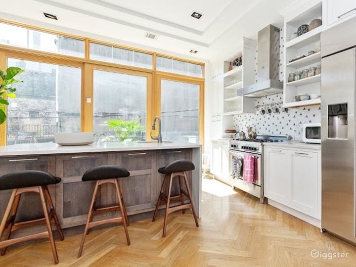 Mid Century Modern Brooklyn Brownstone Photo 2