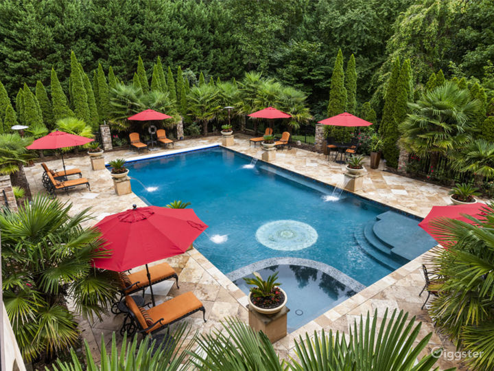 Private Paradise Pool in Atlanta
