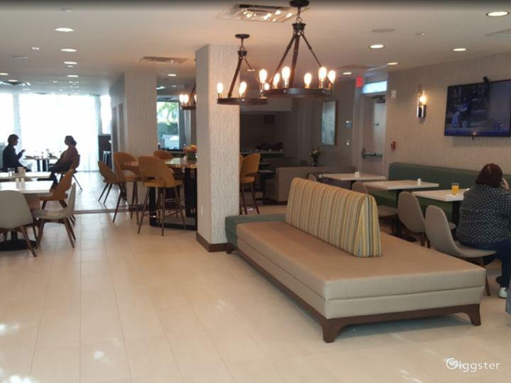 Modern Hotel Lounge in Brickell Photo 2