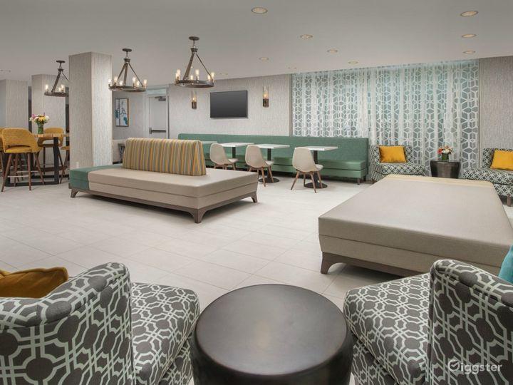 Modern Hotel Lounge in Brickell