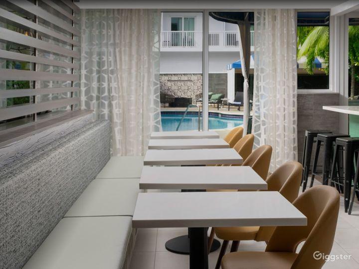Modern Hotel Lounge in Brickell Photo 4