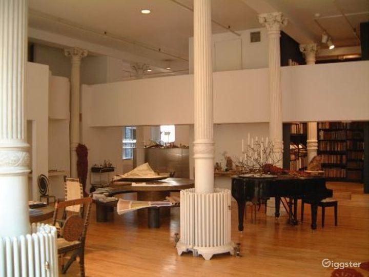 Classic soho loft: Location 1201 Photo 4