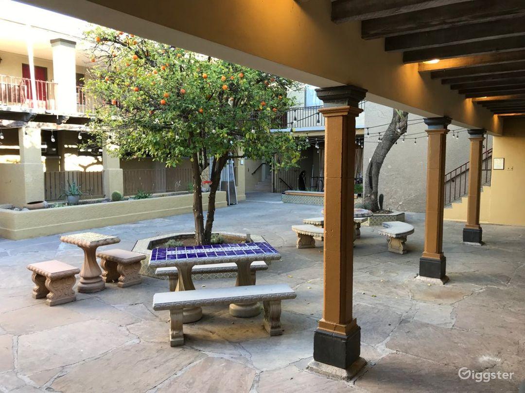 Charming Courtyard Photo 1
