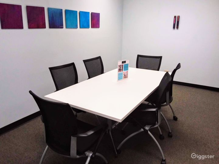 Interior View Meeting Room in Downtown Miami Photo 3