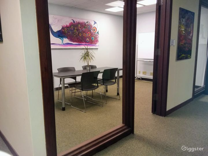 Interior View Meeting Room in Downtown Miami Photo 5
