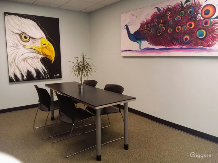 Interior View Meeting Room in Downtown Miami Photo 4