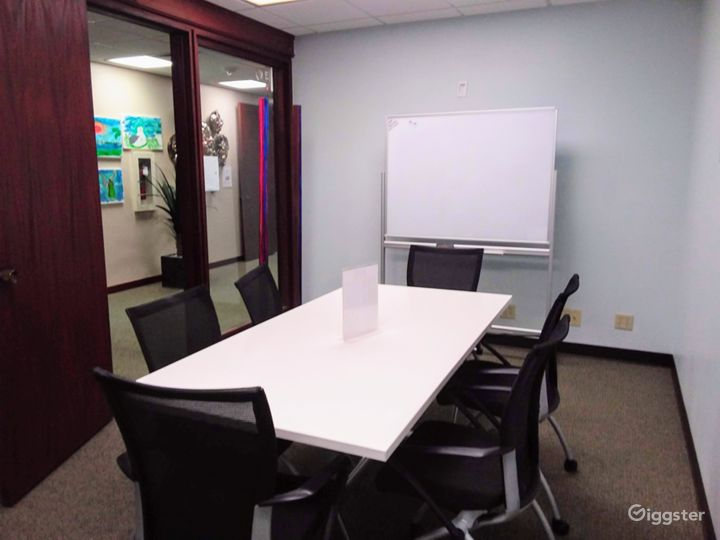 Interior View Meeting Room in Downtown Miami Photo 2