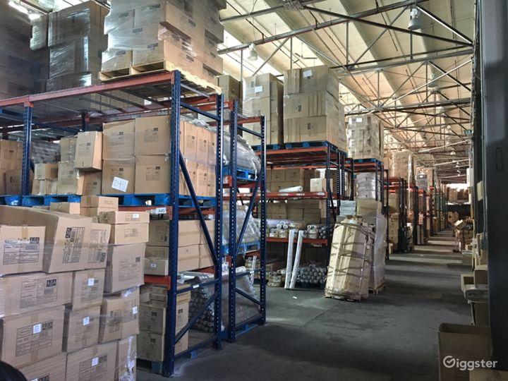 Massive storage warehouse