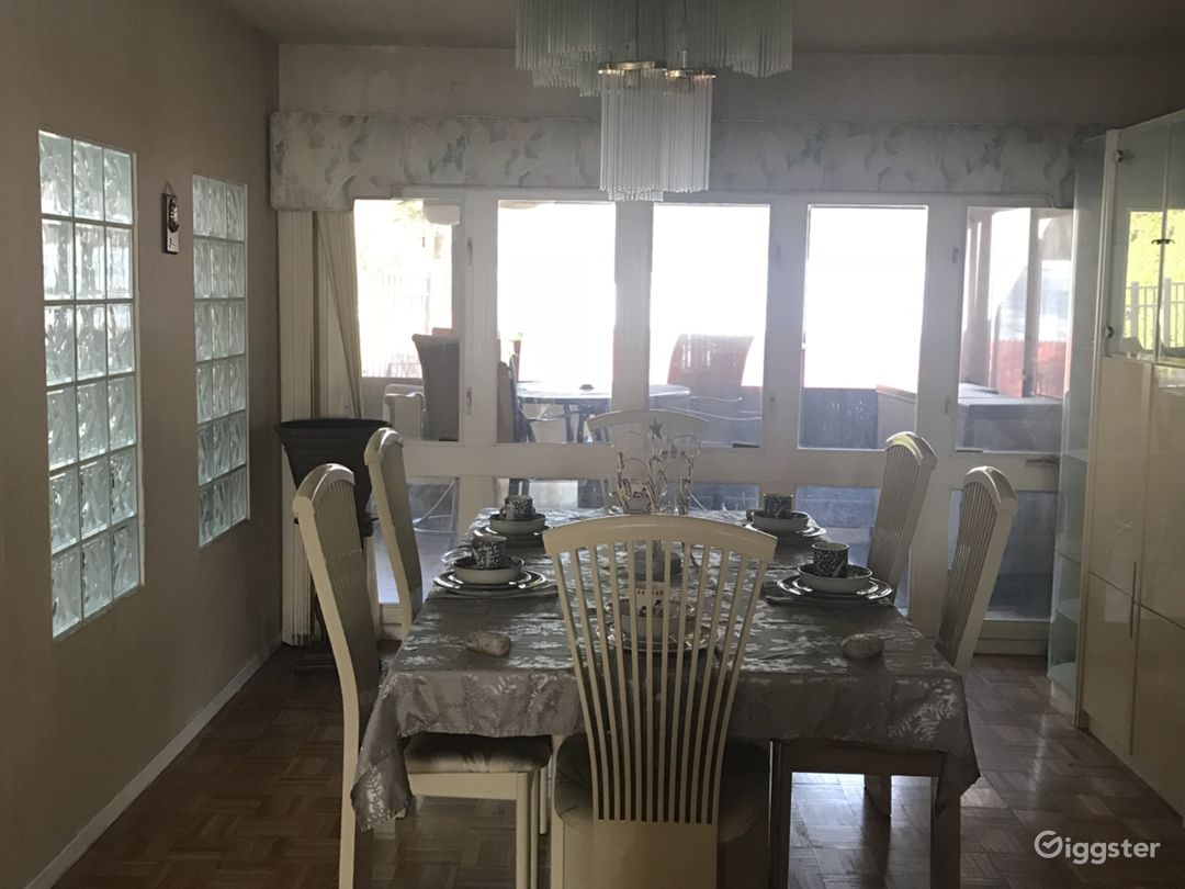Diningroom and Enclosed Porch
