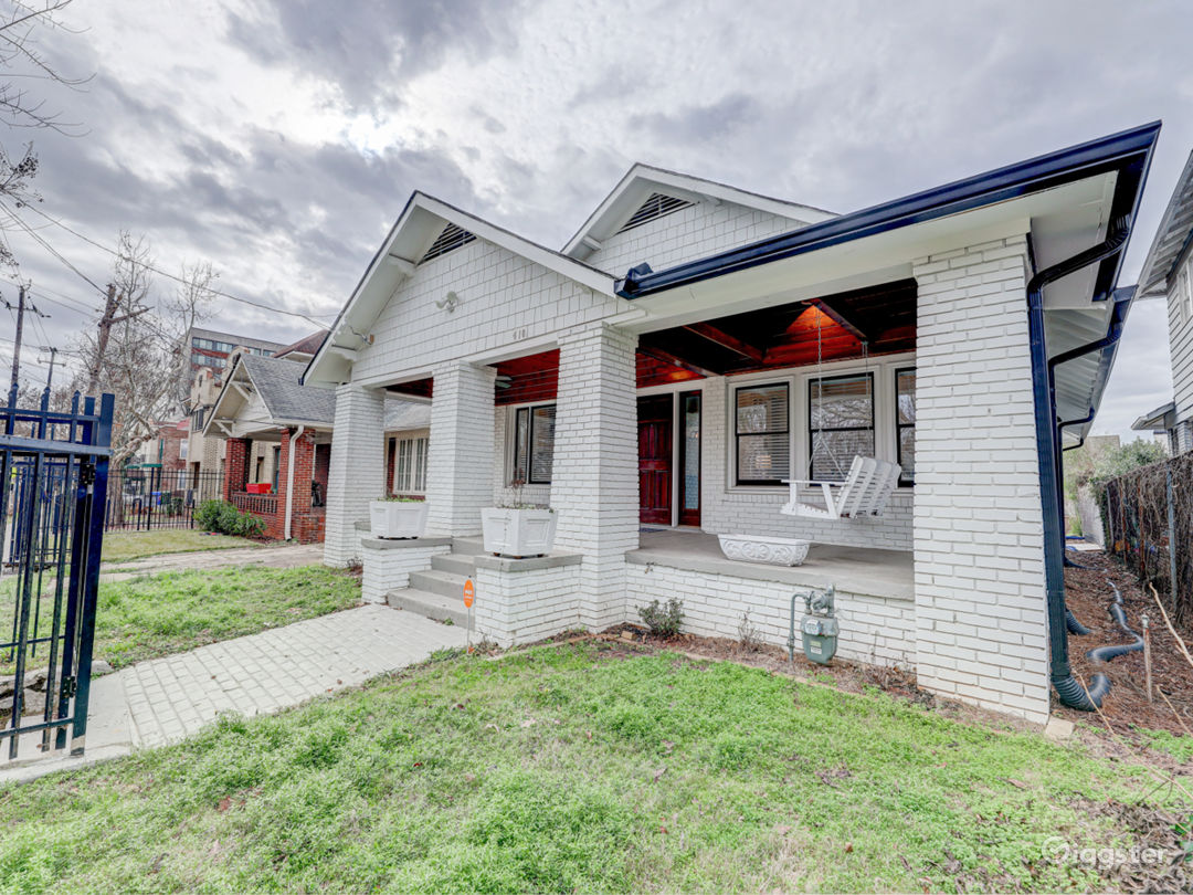 1920s renovated craftsman in the Old Fourth Ward district of Atlanta