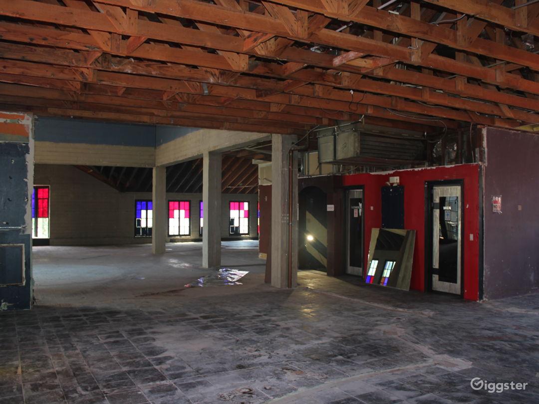 2nd floor retail space recently demolish (5,000sf)
