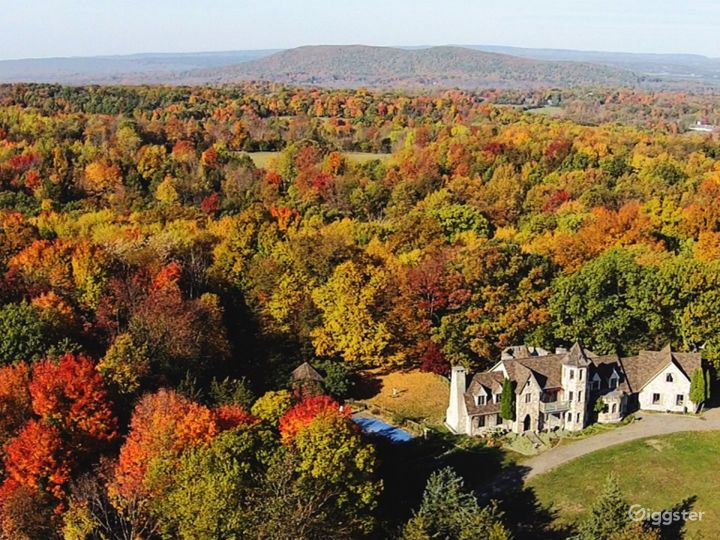 Chateau-Castle one hour from New York City!