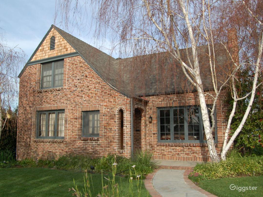 1929 Brick Tudor Home Photo 1