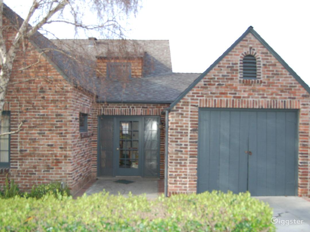1929 Brick Tudor Home Photo 2