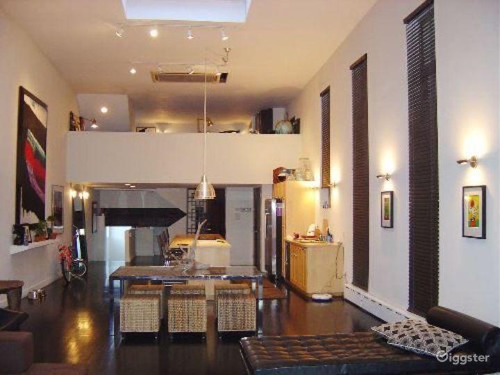 Contemporary NY apartment: Location 3147 Photo 4