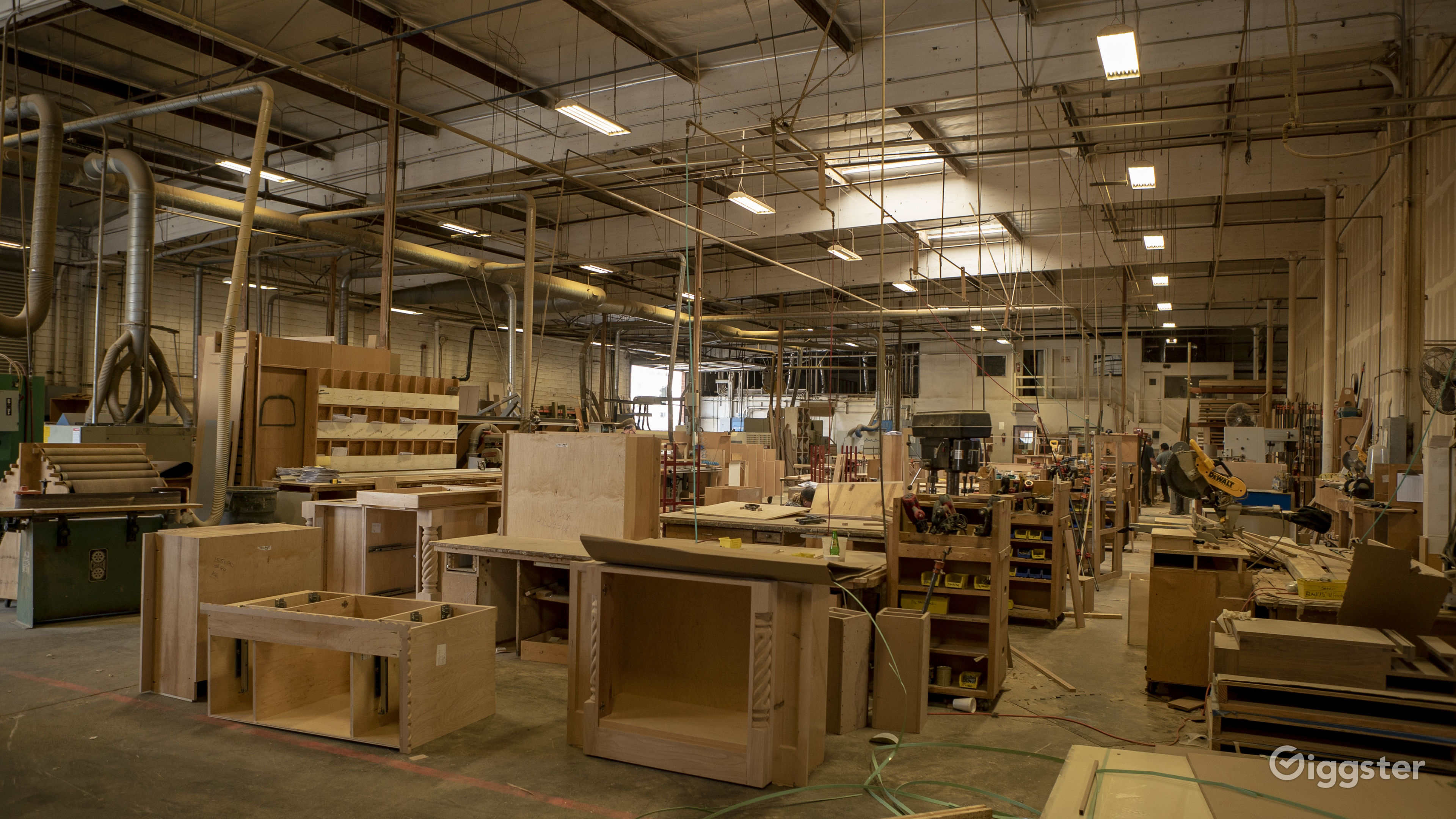 Woodworking Shop Rent This Location On Giggster