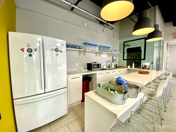 Kitchenette - sink, refrigerator and freezer available for use.