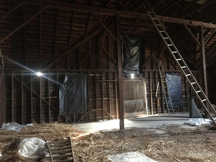 upper floor historic barn